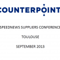 Aviation Industry Suppliers Conference Toulouse 2013